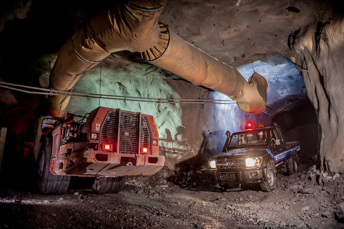 Underground mining with the Tembo 4x4 e-LV