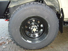 Heavy Duty Steel wheel